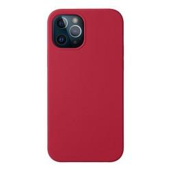 """Чехол-накладка силикон Deppa Liquid Silicone Case D-87780 для iPhone 12/ 12 Pro (6.1"""") 1.7мм Красный"""