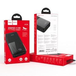 Аккумулятор внешний универсальный Hoco J42A 20000 mAh High power mobile power bank (4USB:5V-2.0A Max) Черный