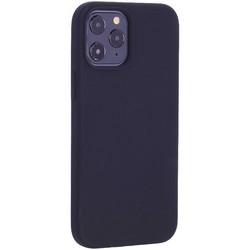 """Чехол-накладка силиконовый TOTU Outstanding Series Silicone Case для iPhone 12 Pro Max 2020 (6.7"""") Черный"""