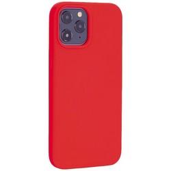 """Чехол-накладка силиконовый TOTU Outstanding Series Silicone Case для iPhone 12 Pro Max 2020 (6.7"""") Красный"""