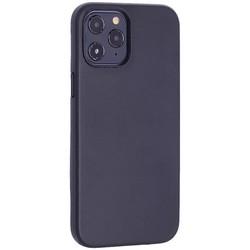 """Чехол-накладка кожаный TOTU Emperor Series Leather Case для iPhone 12 Pro Max 2020 (6.7"""") Черный"""
