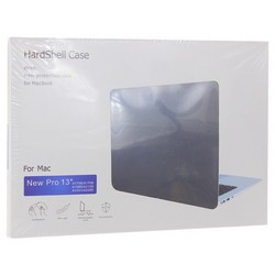 "Защитный чехол-накладка HardShell Case для Apple MacBook New Pro 13"" Touch Bar (2016-2020г.) A1706/A1708/A1989/A2159/A2289/A2251 (M1) матовая черная"
