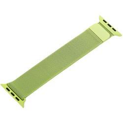Ремешок из нержавеющей стали MAGNET Band для Apple Watch 44мм/ 42мм Салатовый