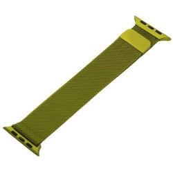 Ремешок из нержавеющей стали MAGNET Band для Apple Watch 44мм/ 42мм Зеленый
