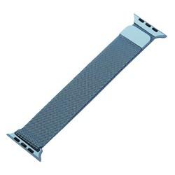 Ремешок из нержавеющей стали MAGNET Band для Apple Watch 44мм/ 42мм Темно-голубой