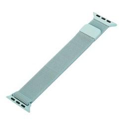 Ремешок из нержавеющей стали MAGNET Band для Apple Watch 40мм/ 38мм Светло-бирюзовый