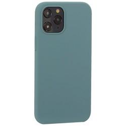 """Накладка силиконовая MItrifON для iPhone 12 Pro Max (6.7"""") без логотипа Изумрудный №62"""