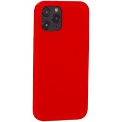 """Накладка силиконовая MItrifON для iPhone 12 Pro Max (6.7"""") без логотипа Product red Красный №14"""