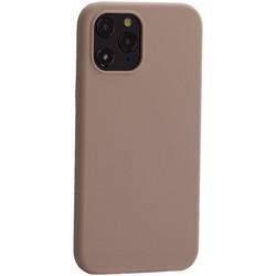 """Накладка силиконовая MItrifON для iPhone 12 Pro Max (6.7"""") без логотипа Pink sand Розовый песок №19"""