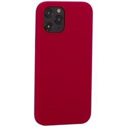 "Накладка силиконовая MItrifON для iPhone 12 Pro Max (6.7"") без логотипа Raspberry Малиновый №36"