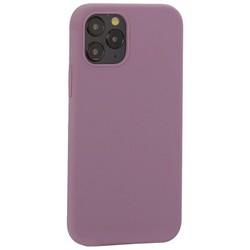 "Накладка силиконовая MItrifON для iPhone 12/ 12 Pro (6.1"") без логотипа Dark Lilac Темно-сиреневый №61"
