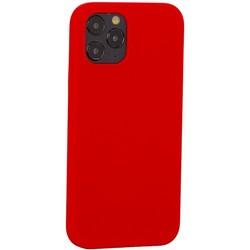 """Накладка силиконовая MItrifON для iPhone 12/ 12 Pro (6.1"""") без логотипа Product red Красный №14"""