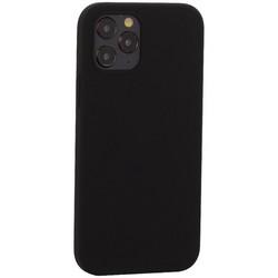 """Накладка силиконовая MItrifON для iPhone 12/ 12 Pro (6.1"""") без логотипа Black Черный №18"""