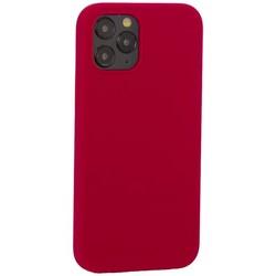 "Накладка силиконовая MItrifON для iPhone 12/ 12 Pro (6.1"") без логотипа Raspberry Малиновый №36"