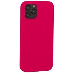 "Накладка силиконовая MItrifON для iPhone 12/ 12 Pro (6.1"") без логотипа Bright pink Ярко-розовый №47"