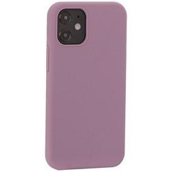 """Накладка силиконовая MItrifON для iPhone 12 mini (5.4"""") без логотипа Dark Lilac Темно-сиреневый №61"""