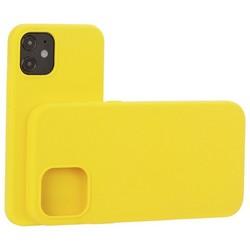 """Накладка силиконовая MItrifON для iPhone 12 mini (5.4"""") без логотипа Yellow Желтый №55"""