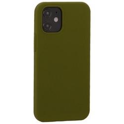 """Накладка силиконовая MItrifON для iPhone 12 mini (5.4"""") без логотипа Marsh Болотный №48"""