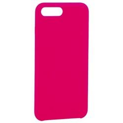 "Накладка силиконовая MItrifON для iPhone 8 Plus/ 7 Plus (5.5"") без логотипа Bright pink Ярко-розовый №47"