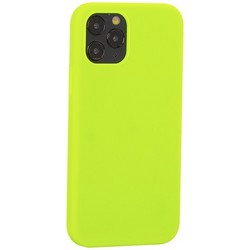 """Накладка силиконовая MItrifON для iPhone 12/ 12 Pro (6.1"""") без логотипа Green Салатовый №31"""
