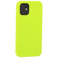 """Накладка силиконовая MItrifON для iPhone 12 mini (5.4"""") без логотипа Green Салатовый №31"""