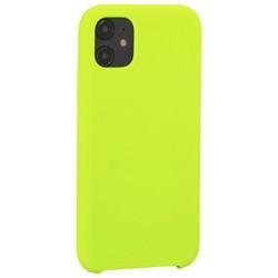 """Накладка силиконовая MItrifON для iPhone 11 (6.1"""") без логотипа Green Салатовый №31"""