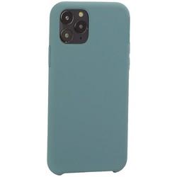 """Накладка силиконовая MItrifON для iPhone 11 Pro (5.8"""") без логотипа Изумрудный №62"""