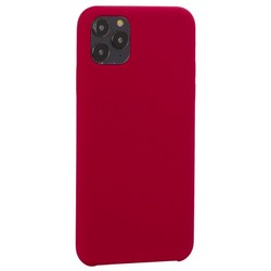 "Накладка силиконовая MItrifON для iPhone 11 Pro Max (6.5"") без логотипа Raspberry Малиновый №36"