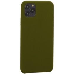 """Накладка силиконовая MItrifON для iPhone 11 Pro Max (6.5"""") без логотипа Marsh Болотный №48"""