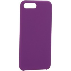 """Накладка силиконовая MItrifON для iPhone 8 Plus/ 7 Plus (5.5"""") без логотипа Violet Фиолетовый №45"""