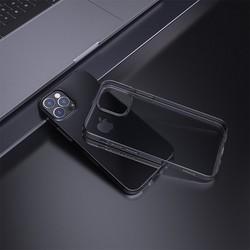 """Чехол силиконовый Hoco Light Series для iPhone 12/ 12 Pro (6.1"""") Дымчатый"""