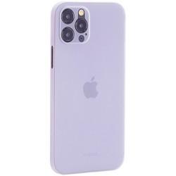 "Чехол-накладка пластиковая K-Doo Air Skin 0.3мм для Iphone 12 Pro (6.1"") Белая"