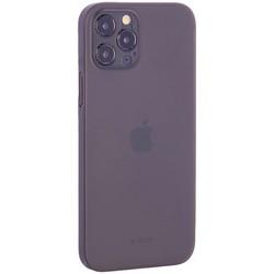 "Чехол-накладка пластиковая K-Doo Air Skin 0.3мм для Iphone 12 Pro (6.1"") Серая"