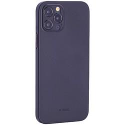 "Чехол-накладка пластиковая K-Doo Air Skin 0.3мм для Iphone 12 Pro (6.1"") Черная"