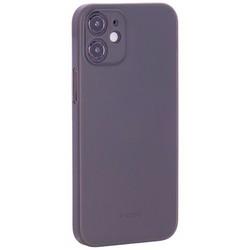 "Чехол-накладка пластиковая K-Doo Air Skin 0.3мм для Iphone 12 mini (5.4"") Серая"