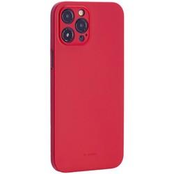 "Чехол-накладка пластиковая K-Doo Air Skin 0.3мм для Iphone 12 Pro Max (6.7"") Красная"
