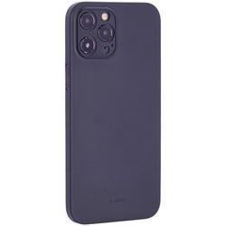 "Чехол-накладка пластиковая K-Doo Air Skin 0.3мм для Iphone 12 Pro Max (6.7"") Черная"