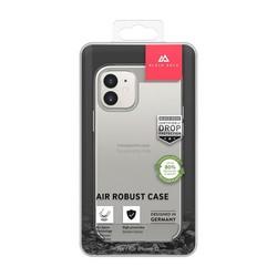 """Чехол-накладка Black Rock Air Robust пластик прозрачный для iPhone 12 mini (5.4"""") силиконовый борт (800115) 1120ARR01"""
