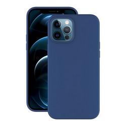 """Чехол-накладка силикон Deppa Soft Silicone Case D-87771 для iPhone 12 Pro Max (6.7"""") Синий"""