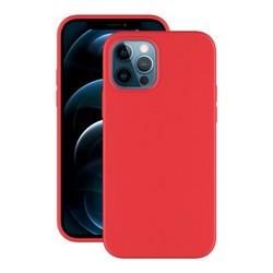 """Чехол-накладка силикон Deppa Soft Silicone Case D-87766 для iPhone 12/ 12 Pro (6.1"""") Красный"""