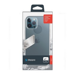 "Чехол-накладка силикон Deppa Gel Case D-87705 для iPhone 12 Pro Max (6.7"") 1.5мм Прозрачный"