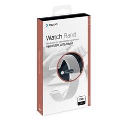 Ремешок из нержавеющей стали Deppa Band Mesh D-47184 универсальный для Watch 22мм Серебристый