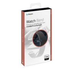 Ремешок из нержавеющей стали Deppa Band Mesh D-47180 универсальный для Watch 20мм Черный
