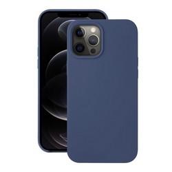 "Чехол-накладка силикон Deppa Liquid Silicone Case D-87715 для iPhone 12/ 12 Pro (6.1"") 1.7мм Синий"