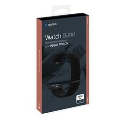 Ремешок нейлоновый Deppa Band Nylon D-48101 для Apple Watch 40мм/ 38мм Черный