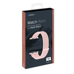 Ремешок нейлоновый Deppa Band Nylon D-48102 для Apple Watch 40мм/ 38мм Розовый