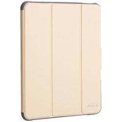 """Чехол-подставка Mutural Folio Case Elegant series для iPad Pro (11"""") 2020г. кожаный (MT-P-010504) Золотой"""