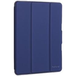 "Чехол-подставка Mutural Folio Case Elegant series для iPad 7-8 (10,2"") 2019-20г.г. кожаный (MT-P-010504) Синий"