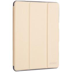 """Чехол-подставка Mutural Folio Case Elegant series для iPad 7-8 (10,2"""") 2019-20г.г. кожаный (MT-P-010504) Золотой"""