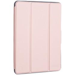 """Чехол-подставка Mutural Folio Case Elegant series для iPad 7-8 (10,2"""") 2019-20г.г. кожаный (MT-P-010504) Розовое золото"""
